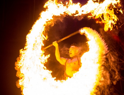Cirque Adrenaline at Arts Centre Melbourne - Extreme Fire